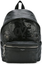 Saint Laurent mini City Love backpack