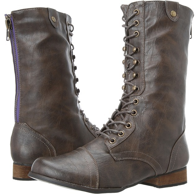 Madden-Girl Andee (Brown) - Footwear