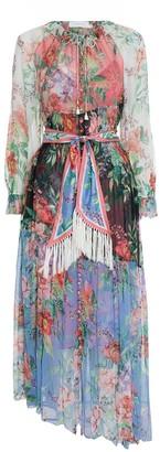 Zimmermann Bellitude Spliced Long Dress