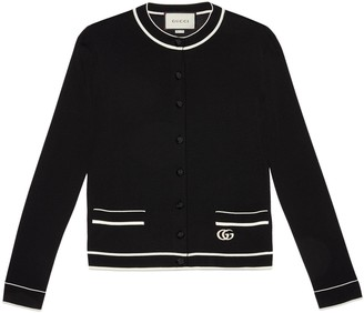 Gucci Fine viscose cardigan