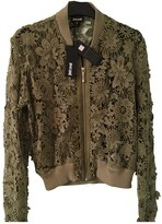 Just Cavalli Green Lace Top for Women