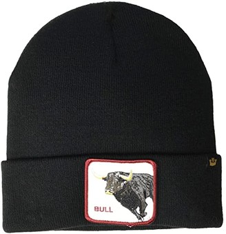 Goorin Brothers Animal Farm Beanie (Black/Big Bull) Beanies