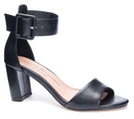 Chinese Laundry Rumor Block Heel Dress Sandals Women's Shoes