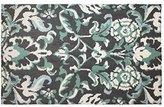"Laura Ashley Penelope Plush Knit Microfiber 27"" x 45"" Accent Rug, Duck Egg Blue"