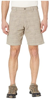Mountain Khakis Boardwalk Plaid Short (Stone) Men's Shorts