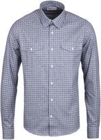 Barbour Shincliffe Blue Tartan Tailored Flannel Shirt
