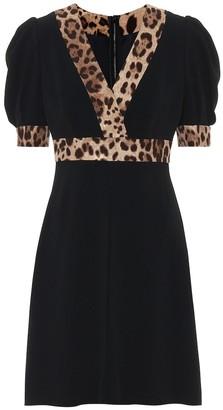 Dolce & Gabbana Crepe minidress