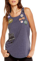 Chaser Rock Patchwork Tie-Back Tank