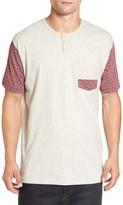 Imperial Motion Men's 'Harper' Short Sleeve Pocket Henley T-Shirt