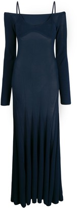Jacquemus Box Pleated Knitted Dress