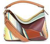 Loewe Striped Leather Puzzle Bag