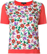 Salvatore Ferragamo small floral printed T-shirt