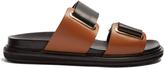 Marni Fussbett leather slides