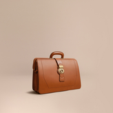 Burberry The Trench Leather Doctor's Bag, Brown