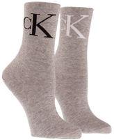 Calvin Klein Vintage Logo Crew Socks Set
