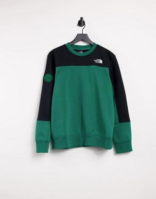 The North Face Graphic Collection sweatshirt in green