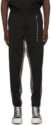 Mastermind Japan Black and Grey Side Line Lounge Pants