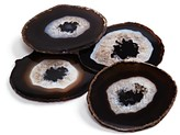 Bloomingdale's Anna New York By Rablabs Anna new york By Rablabs Pedra Coasters Chocolate Set of 4