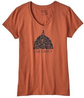 Patagonia Women's Live Simply® Summit Stones Cotton V-Neck T-Shirt
