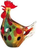 Dale Tiffany Dale TiffanyTM 9.5-Inch Hanna the Hen Art Glass Figurine