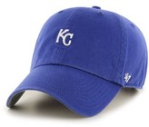 '47 Women's Clean Up Kc Royals Baseball Cap - Blue