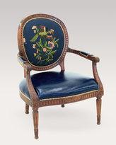 Aubrey Crewel Chair