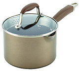 Anolon Advanced Umber 2-Quart Nonstick Sauce Pan with Straining Lid