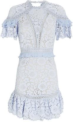 Saylor Julep Lace Mini Dress