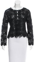 Moschino Cheap & Chic Moschino Cheap and Chic Floral-Embroidered Embellished Cardigan