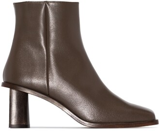 REJINA PYO Square-Toe 60mm Ankle Boots