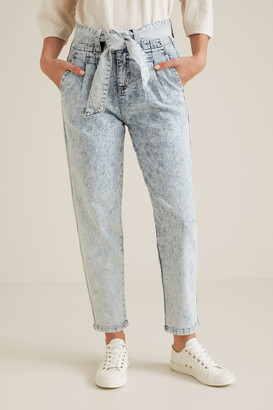 Seed Heritage Tie Up Denim Pants
