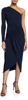 Cushnie One-Shoulder Bodycon Dress