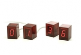 Numbers Clock Red - Red LED