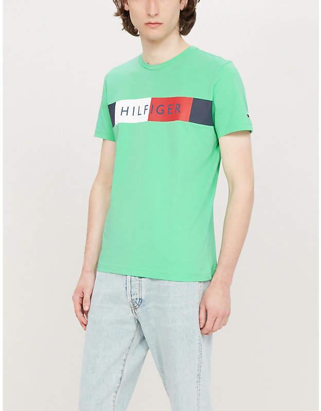 a362346e8 Tommy Hilfiger Green Tops For Men - ShopStyle Australia