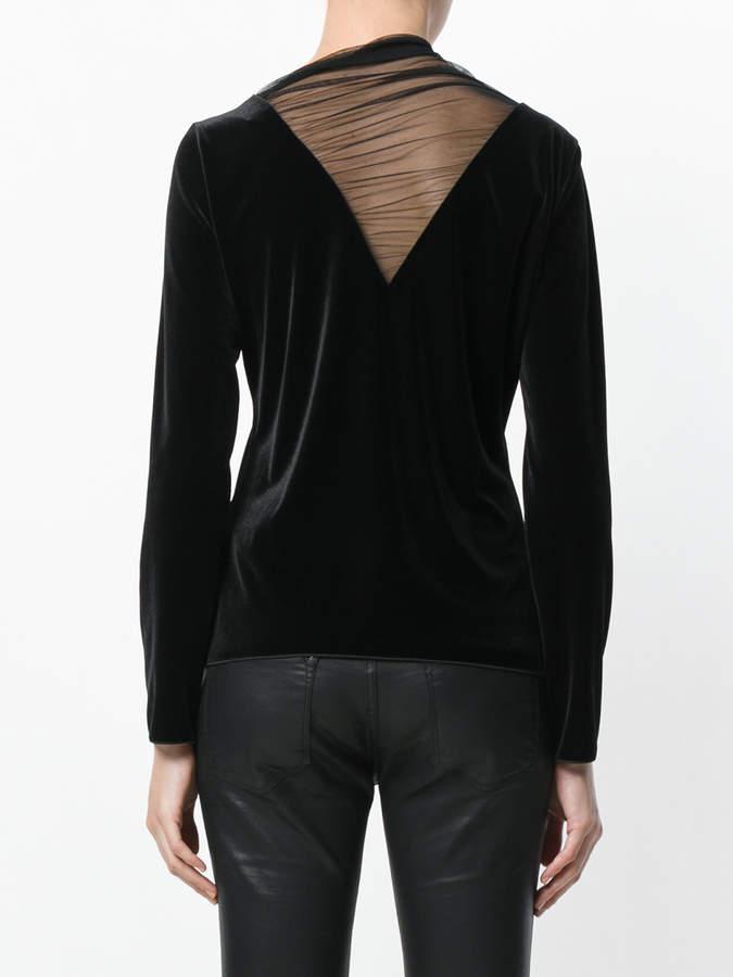 Armani Collezioni stretched roll neck top