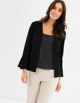 Wallis Daisy Flute Sleeve Jacket