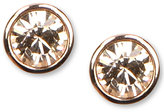 Givenchy Earrings, Rose Gold-Tone Swarovski Element Stud Earrings