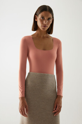 Cos Square Neck Long-Sleeve Body