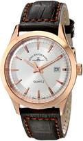 Zeno Men's 6662-515QPGR-F3 Vintage Line Analog Display Quartz Brown Watch