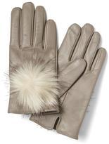 Banana Republic Faux-Fur Pom Glove
