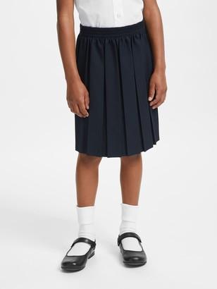 John Lewis & Partners Girls' Stain Resistant Pleated School Skirt