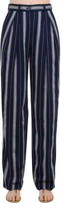 Nina Ricci Fluid Striped Trousers