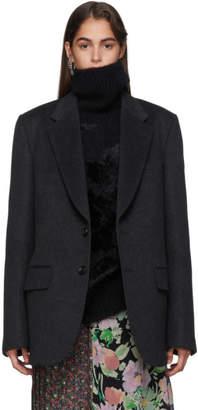 Junya Watanabe Grey Wool Blazer