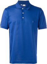 Brioni embroidered logo polo shirt