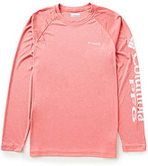 Columbia PFG Terminal Tackle Heather Long-Sleeve Tee