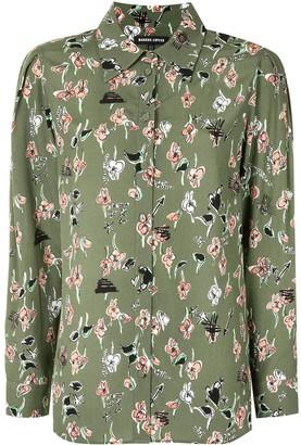 Markus Lupfer Floral Sketch Shirt