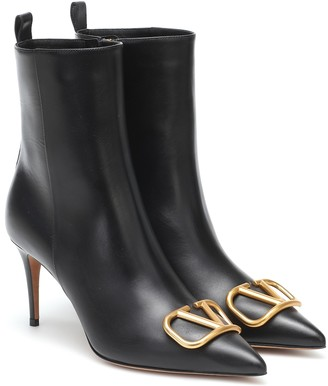 Valentino VLOGO leather boots