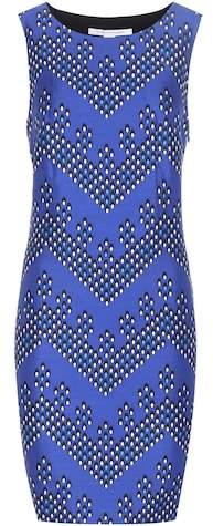 Diane von Furstenberg Sofia printed wool and silk-twill dress
