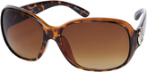 Accessorize Angel Metal Detail Wrap Sunglasses