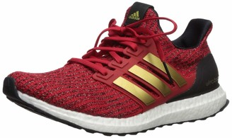 adidas x Game of Thrones Womens Ultraboost Running Shoes scarlet/gold metallic/black 5 M US
